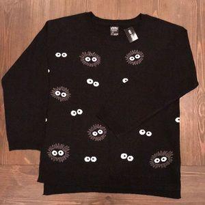 Studio Ghibli soot sprite sweater